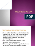 Progressive Era PPT