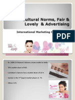 Fair Lovely Advertising Final