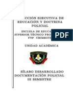 DOCUMENTACI POLICIAL III SEMESTRE ESPARTANOS.doc