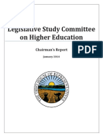 REPORT House Higher Education Study Committee