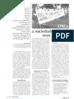 ONGs, a sociedade defende seus interesses