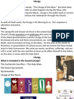 Liturgy & Prayer