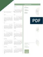 Small Business Calendar (Any Year, Mon-Sun)1 2015