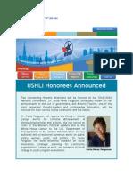 USHLI Honorees Announced
