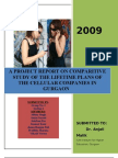 comparative study of life time plans of different mobile operators in gurgaon
