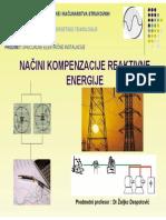 Nacini Kompenzacije Reaktivne Energije