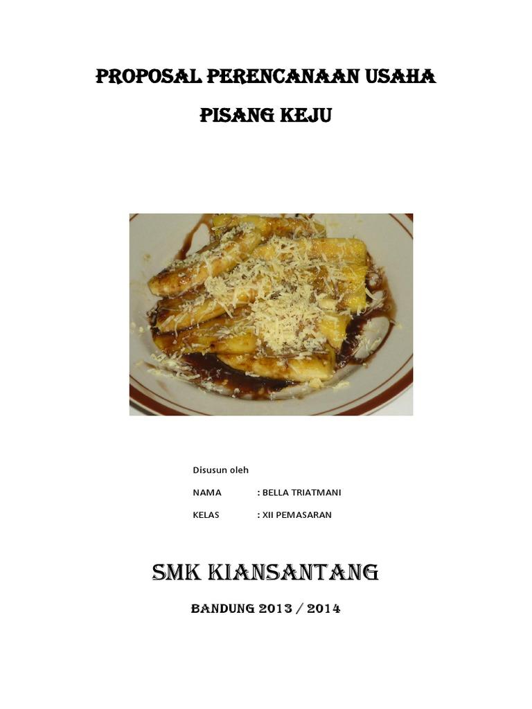 Contoh Proposal Kewirausahaan Smk Tentang Makanan ...