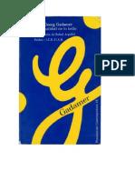 Gadamer HansGeorg La actualidad de lo bello.pdf