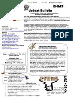 Bobcat Bulletin 2-10-14