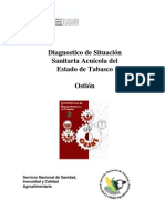 Diagnostico Situacion Sanitaria Acuicola Tabasco, Ostion