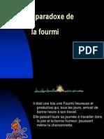 Le Paradoxe de La Fourmi 1