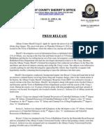 Press Release Craig Jackson 2014