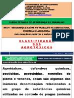AGROTÓXICOS - NR 31