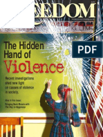 Freedom Magazine - The Hand of Violence