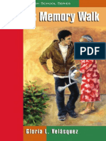 Rudy's Memory Walk by Gloria L. Velasquez