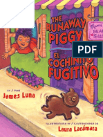 The Runaway Piggy / El Cochinito Fugitivo by James Luna