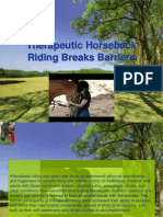 Therapeutic Horseback Riding Breaks Barriers