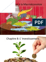 Introduction à la Macroéconomie Ch 8