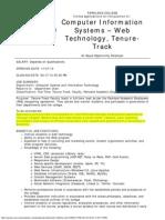 Web Faculty
