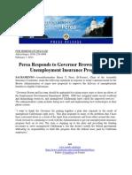 Perea Unemployment Insurance Statement