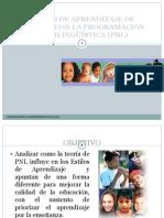 Estilos de Aprendizaje Y PNL