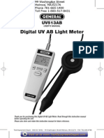 Uv Ab Light Meter