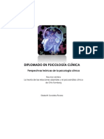 Perspectivas teóricas de la psicología clínica - Resumen
