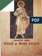 Uvod u Novi Zavjet - Raymond E. Brown Ocr