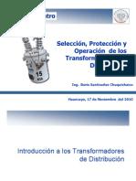 Selección de Transformadores de Distribución
