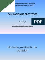 Clase 6 y 7 - Monitoreo y Evaluaci_n Del Proyecto