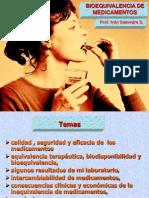 Bioequivalencia de Medicamentos - Dr. Saavedra