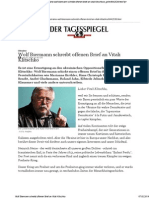 2014-02-06 Wolf Biermann an Vitali Klitschko