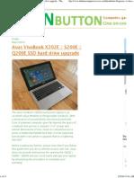 Asus X202E Upgrade HD