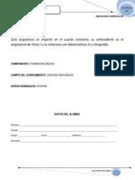 Cuadernillo Fisica II