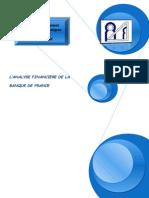 Analyse financière Banque de France