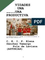 Lectura Productiva CP E-Sanchez Tamargo- ASTURIAS
