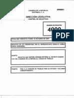 Iniciativa 4000, Reformas al Código de Trabajo Decreto 1441 del Congreso de la República