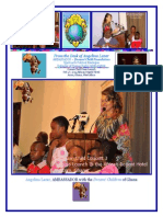 PRESS LAUNCH - Dream Child - Angelina Lazar AMBASSADOR Speech - Feb 4 2014 Accra Ghana