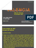 14 Valencia Riada Del 14-10-57