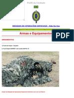 Armamento e Equip Brigada de Op Esp Eb