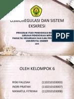 Kelompok Osmoregulasi Dan Sistem Ekskresi Fix