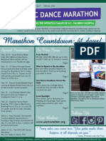 February 2014 UNC Dance Marathon Newsletter