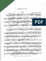 Sonata (for Double bass and piano) - Benedetto Marcello