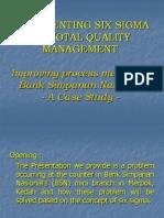Dialog Six Sigma Case Study Halili Group