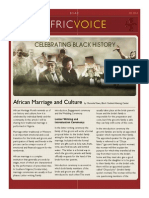 Africvoice Newsletter - February Issue