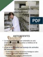 Manejo de Animales de Laboratorio