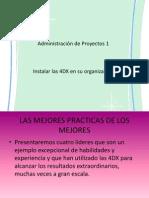Exposicion de 4DX..