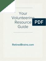 Your Volunteering Resource Guide