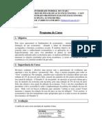 Programa - Metrics MPE2013