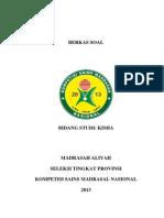 soal-ksm-propinsi-2013-ma-kimia